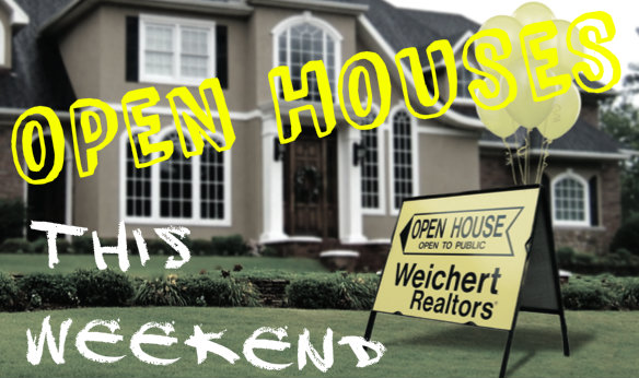 Open Houses this Weekend in and around Huntsville, AL